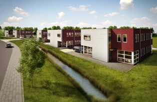 Business Houses, Joulehof, Bergen op Zoom